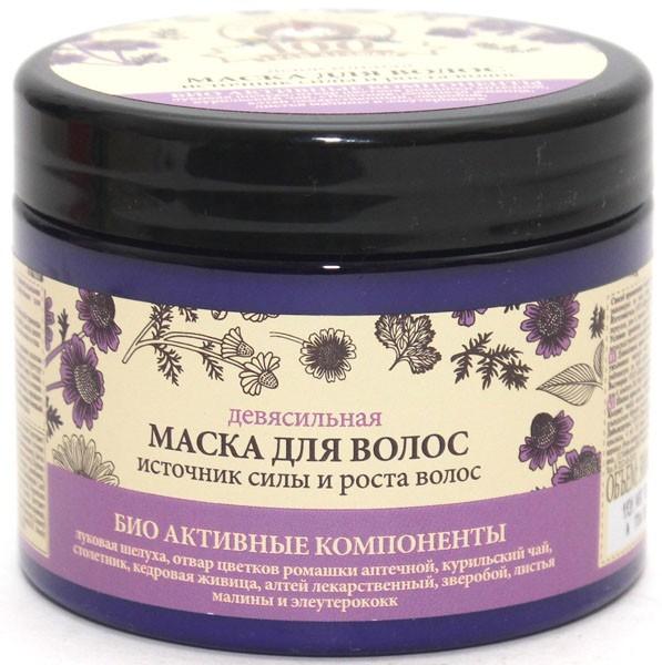100 живительных трав Агафьи Маска для волос девясильная Источник силы и роста (Рецепты Б.Агафьи)