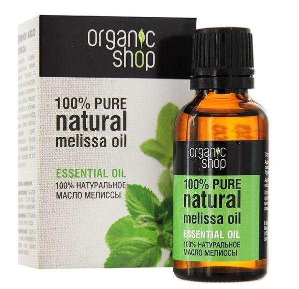 Organic shop Эфирное масло мелиссы