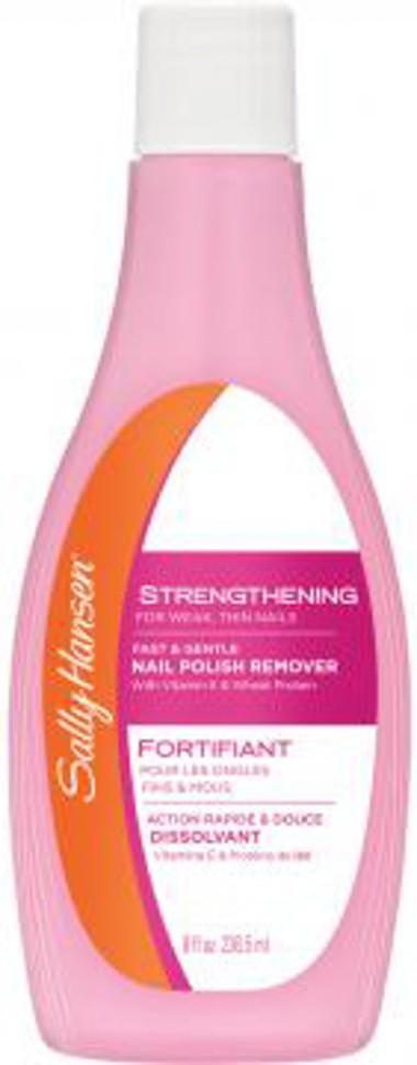 Sally Hansen Жидкость для снятия лака укрепляющая для слабых тонких ногтей strengthening for weak, thin nails