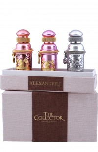 Alexandre J.THE COLLECTOR 3*30мл (КОРИЧНЕВЫЙ)(т/дMORNING MUSCS+т/д ROSE oud+т/дSILVER OMBRE)