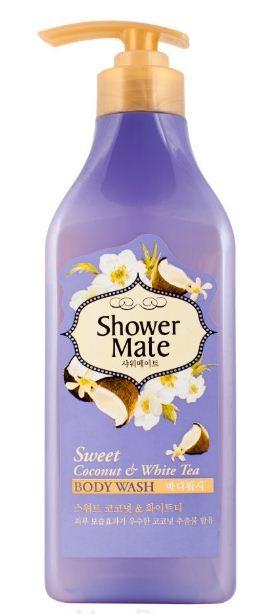 KeraSys Гель для душа Shower mate Кокос и белый чай