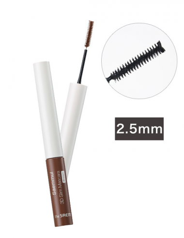 The Saem Тушь 3D Saemmul 3D Slim Mascara Brown 4 г — Makeup market