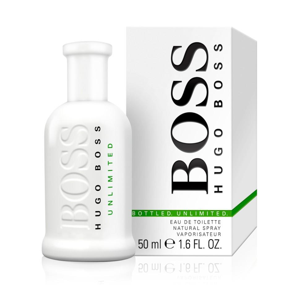 Hugo Boss Bottled Unlimited Туалетная вода 50 мл