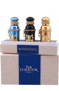 Alexandre J.THE COLLECTOR 3*30мл (СИНИЙ)(т/дBLACK MUSCS+т/д ZAFEER oud VANILLE+т/дGOLDEN oud)
