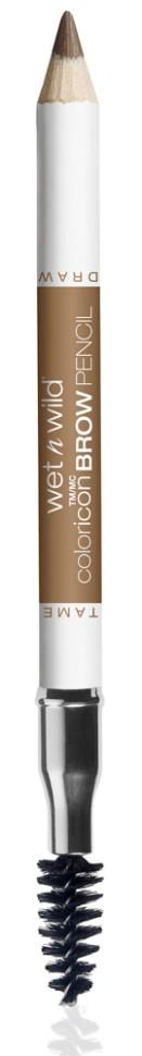 Wet n Wild Карандаш для бровей Color Icon Brow Pencil (E6211 blonde moments)Wet n Wild<br>Карандаш для бровей с щеточкой, прокрашивает, придает бровям нужную форму.Способ применения:<br>аккуратно нанести на бровь.<br>Состав:<br>era Alba, Copernicia Cerifera Cera, Ceresin, Petrolatum, Ricinus Communis Seed Oil, Phenoxyethanol, Sorbic Acid, Iron Oxides/CI 77491, CI 77499, Yellow 5 Lake/CI 19140, Chromium Oxide Greens/CI 77288, Titanium Dioxide/CI 77891<br><br>Вес г: 37<br>Бренд : Wet&amp;Wild<br>Тип средства для бровей : карнадаш с щеточкой<br>Объем мл: 5<br>Страна производитель : Китай