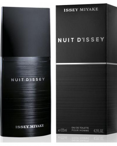 Issey Miyake Nuit D' issey Pour Homme туалетная вода 125 мл мужская — Makeup market