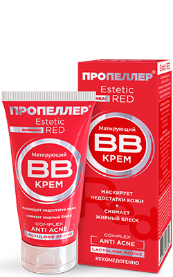 ПРОПЕЛЛЕР Estetic RED Крем ВВ матирующий ANTI ACNE Complex 40 мл