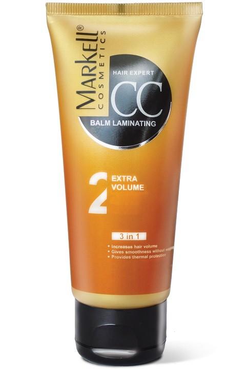 Markell CC-бальзам Ламинирующий Экстра объем для волос