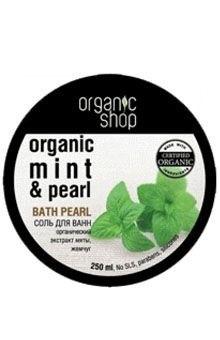 Organic shop соль для ванн мятный чай 250 мл.