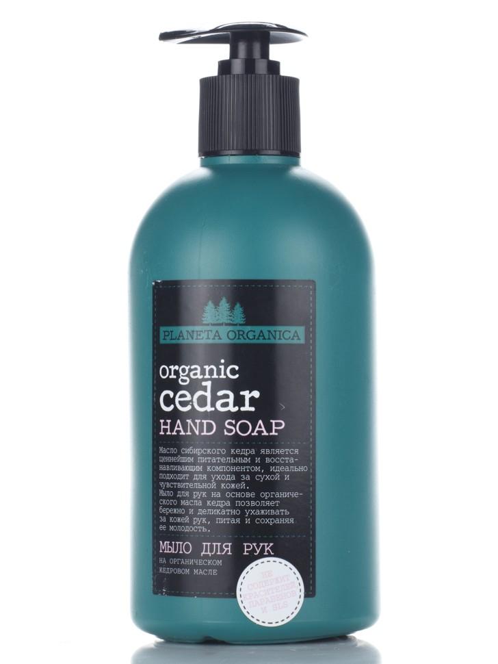 Planeta Organica Мыло для рук Organic Cedar