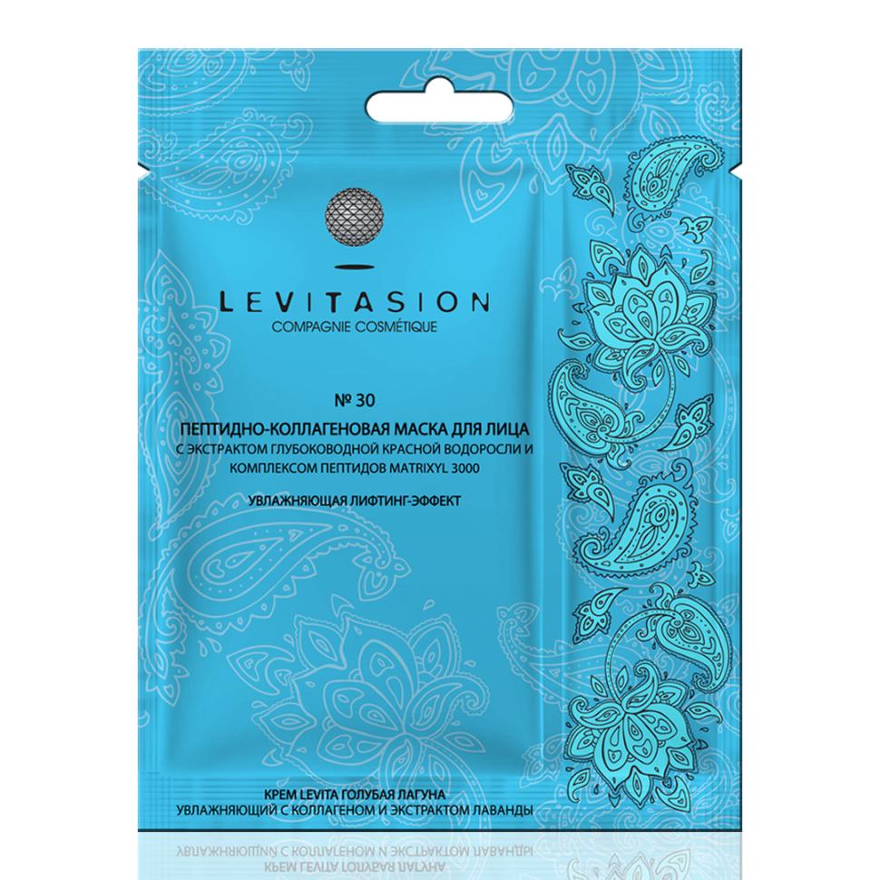 VILENTA Levitasion №30 Маска тканевая пептидно-коллагеновая лифтинг-эффект 38мл (Vilenta)