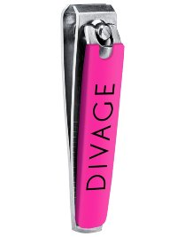 Divage Dolly Collection Мини щипчики для маникюра (розовые)