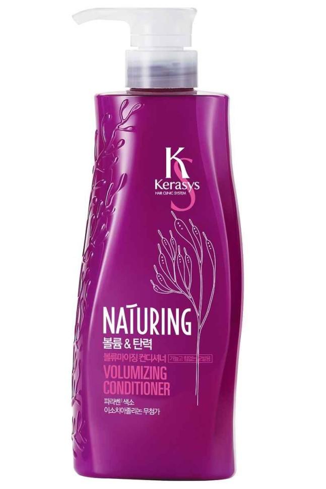 KeraSys Кондиционер для волос Naturing объем и эластичность с морскими водорослями