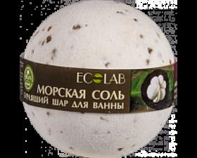 Ecolab Бурлящий шар для ванны Мангостин и Ваниль