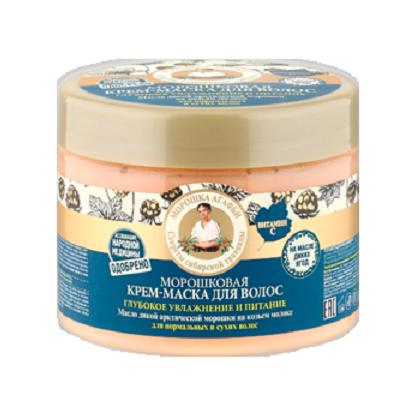 Рецепты Б.Агафьи Маска для волос глубокое увлажнение и питание морошковая 300 мл.