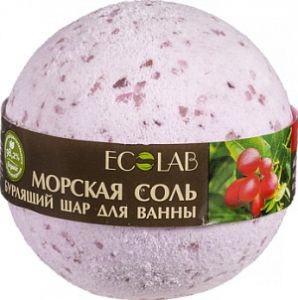 Ecolab Бурлящий шар для ванны Ягоды Асаи и Годжи