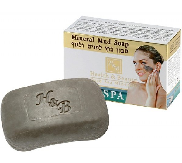 Health Beauty Мыло грязевое для лица и тела