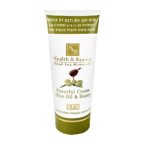 Health Beauty Крем для тела питательный увлажняющий универсальный с маслом Оливы и Меда