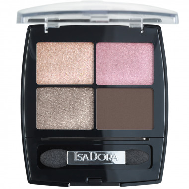 Isa Dora Тени для век 4-x цветные EYE SHADOW QUARTET — Makeup market
