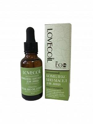 """Ecolab LovEcOil Комплекс масел-БИО для лица витаминный """"Тонус и молодость"""""""
