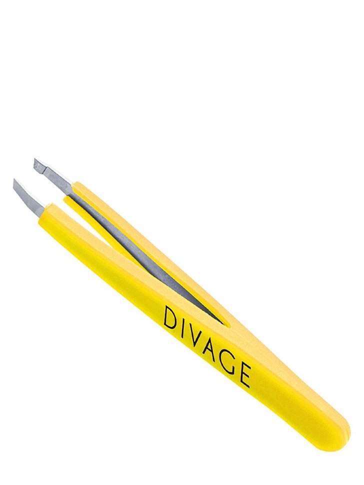 Divage Dolly Collection Пинцет для бровей (желтый)