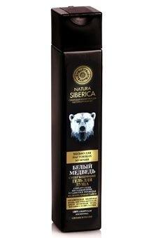 Натура Сиберика гель для душа бодрящий Белый медведь 250мл