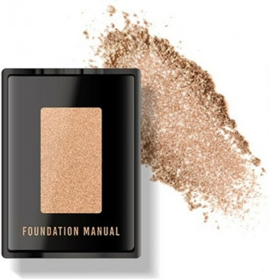Foundation Manual Creative kit shadow Тени для глаз 09 нюд — Makeup market