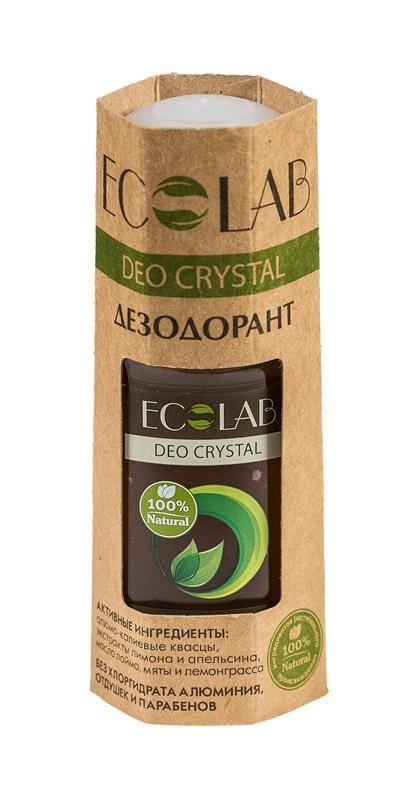 Ecolab Дезодорант для тела DEO CRYSTAL Кора дуба и зеленый чай