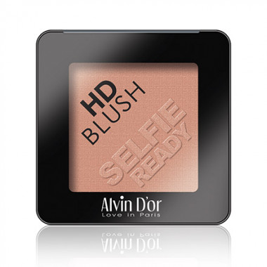 Alvin d'or Румяна пудровые для лица HD Blush selfie ready — Makeup market