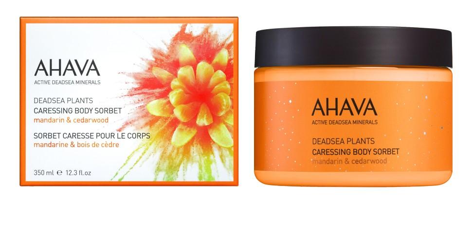 Ahava Deadsea Plants Нежный крем для тела мандарин и кедра 350 мл