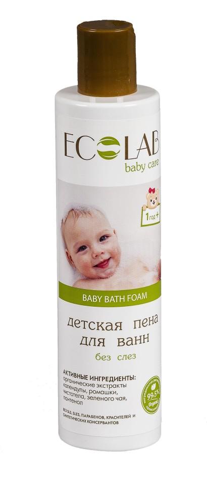 """Ecolab Детская пена для ванн """"Без слез"""""""
