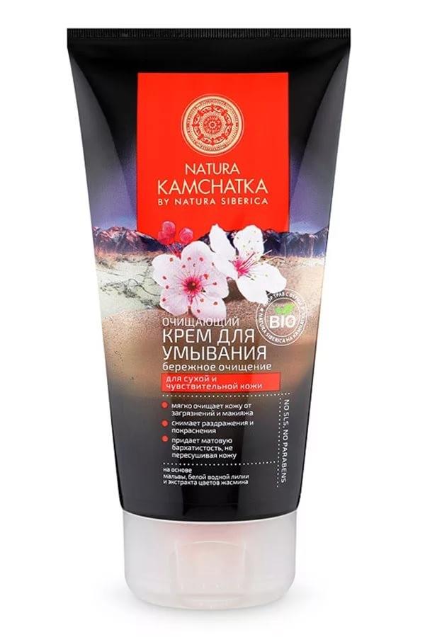 Натура Сиберика NATURA KAMCHATKA Крем очищающий для умывания бережное очищение 150мл