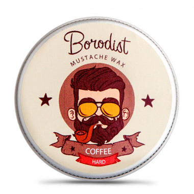 Borodist Воск для усов Coffee Wax — Makeup market