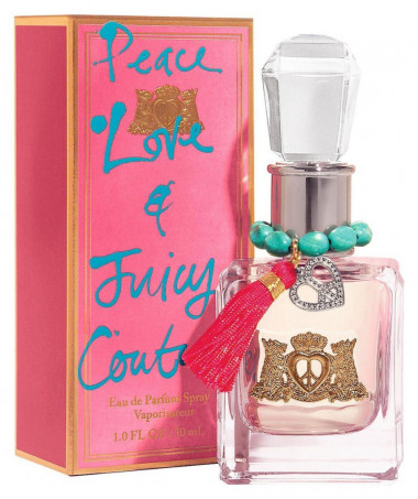 Juicy Couture Peace Love & Juicy Couture Women парфюмерная вода 30 ml — Makeup market