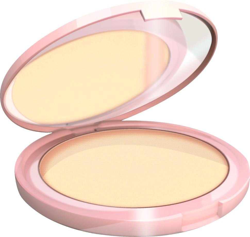 Bell Пудра матирующая компактная с зеркалом 2 Skin Powder Mat (41 прозрачный)