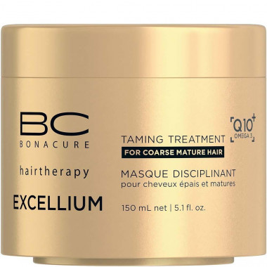 Bonacure Маска Смягчающая Excellium Taming Treatment 150мл. — Makeup market