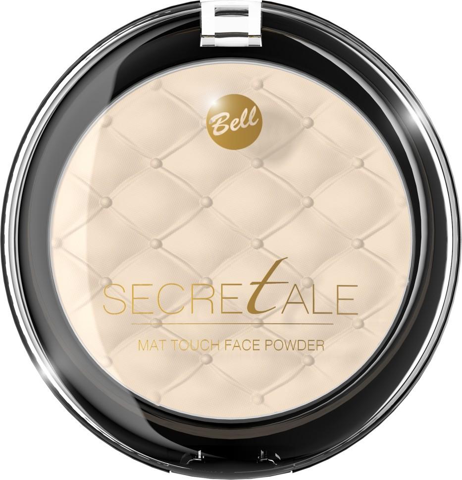 Bell Пудра матирующая фиксирующая макияж Secretale Mat Touch Face Powder (01 бежевый)