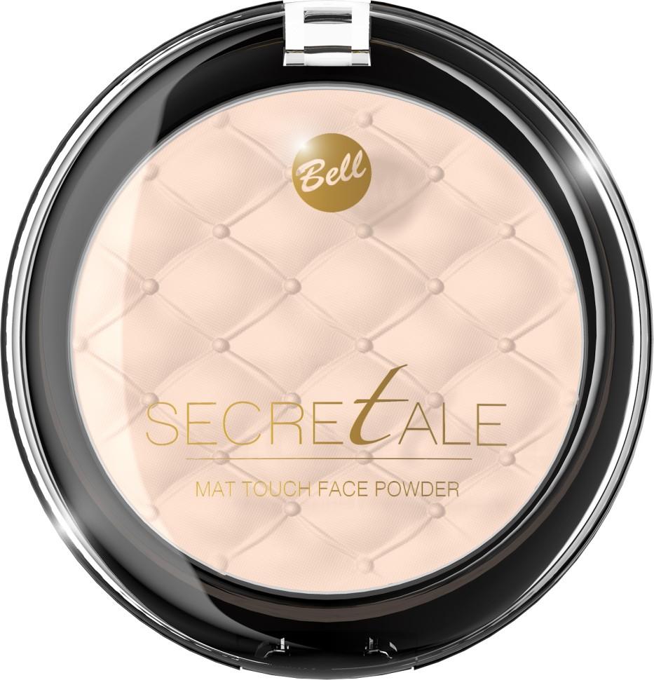 Bell Пудра матирующая фиксирующая макияж Secretale Mat Touch Face Powder (02 бежевый)