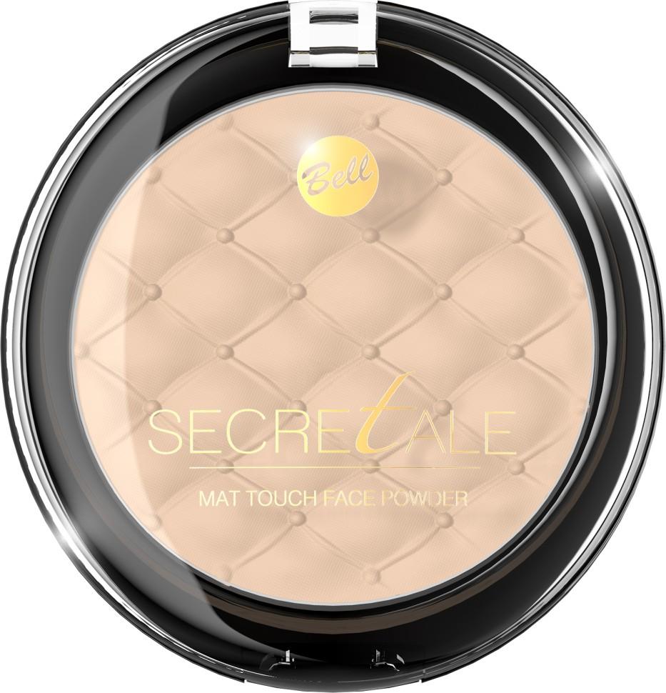 Bell Пудра матирующая фиксирующая макияж Secretale Mat Touch Face Powder (03 бежевый)