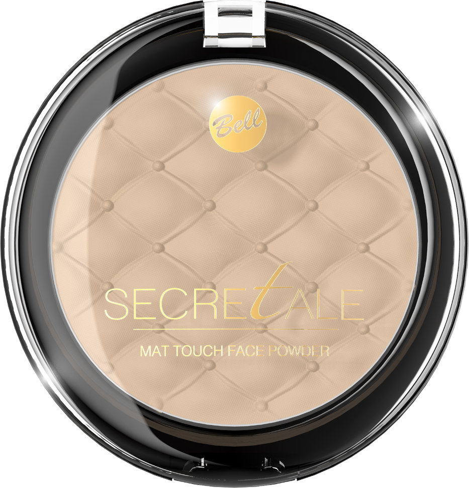 Bell Пудра матирующая фиксирующая макияж Secretale Mat Touch Face Powder (04 бронзовый)