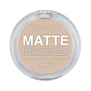 Demini Пудра матирующая MATTE Powder SPF15  — Makeup market