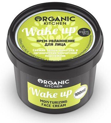 Organic shop Крем-увлажнение для лица Wake up100мл