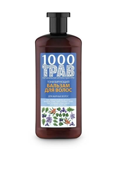 Рецепты Б.Агафьи 1000 трав Бальзам для волос тонизирующий