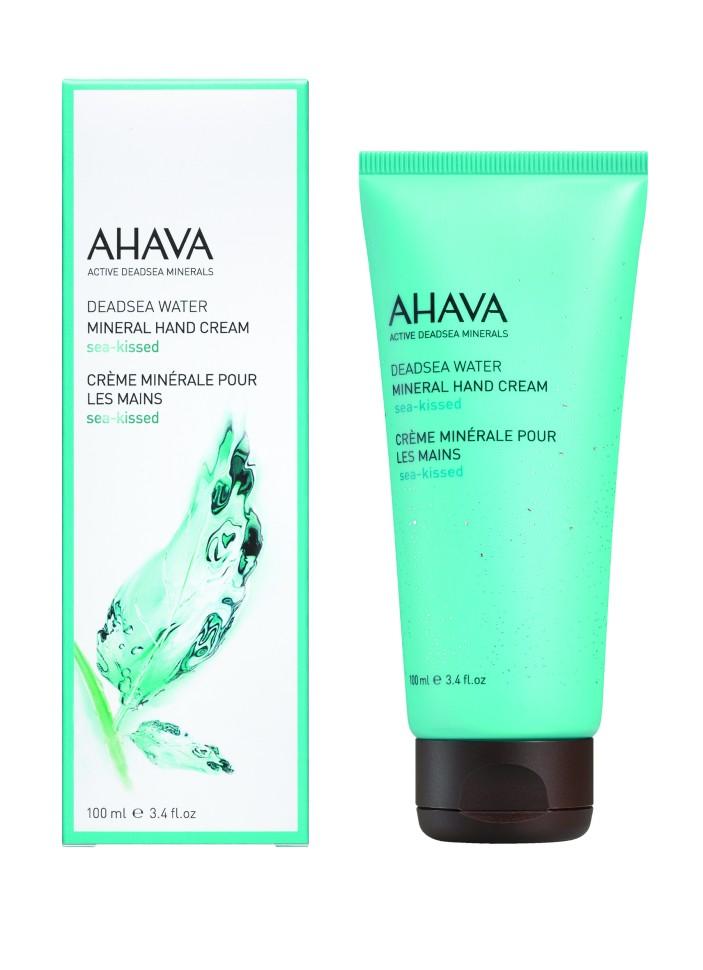 Ahava Deadsea Water Минеральный крем для рук sea kissed 100 мл