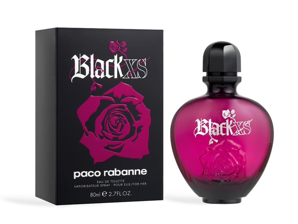 Paco Rabanne Black XS For Her Туалетная вода 80 мл