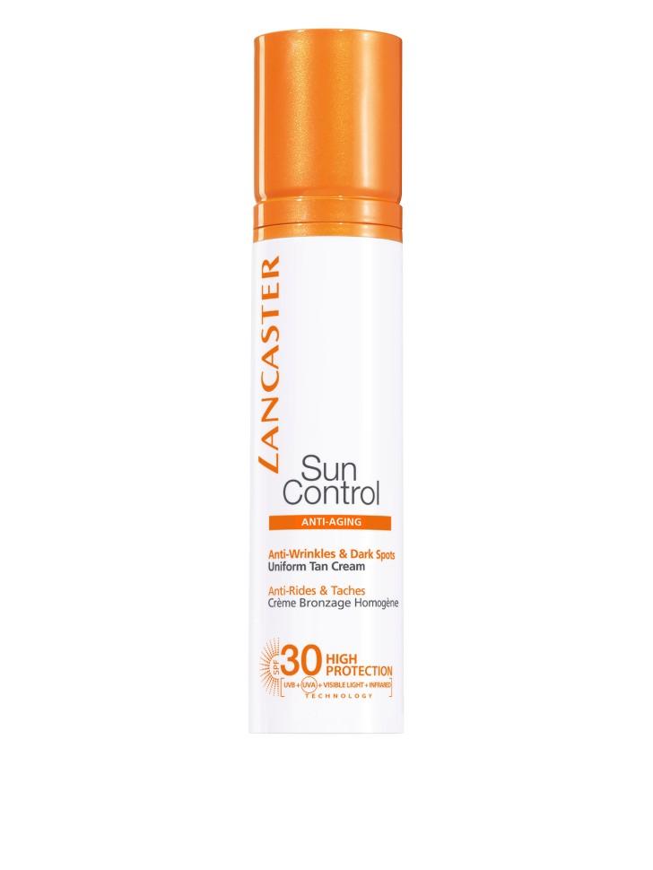 Lancaster Sun Control Крем ровный загар для лица против морщин и пигментных пятен SPF30