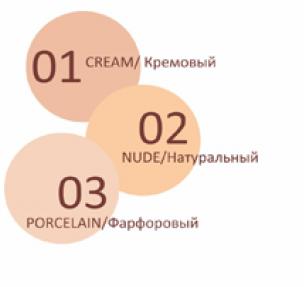 ТРИУМФ TF Корректор для лица Dream Touch 2в1 (101 св.бежевый)