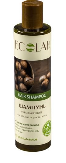 Ecolab Шампунь для объема и роста волос Укрепляющий