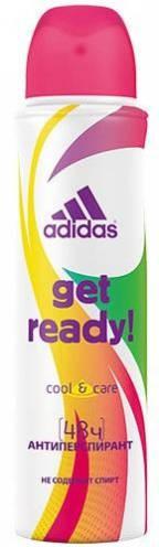 "Adidas Део-спрей АП для женщин ''Cool&Care Get Ready!"" 24 часа"