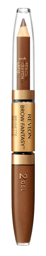 Revlon Карандаш и гель для бровей Colorstay Brow Fantasy Pencil  Gel (105 коричневый)